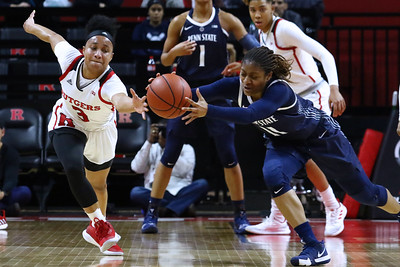 Rutgers Women's basketball takes on Big Ten rival Penn State at the Rutgers Athletic Center in Piscataway on Sunday January 6, 2019  (MARK R. SULLIVAN /THE OCEAN STAR)
