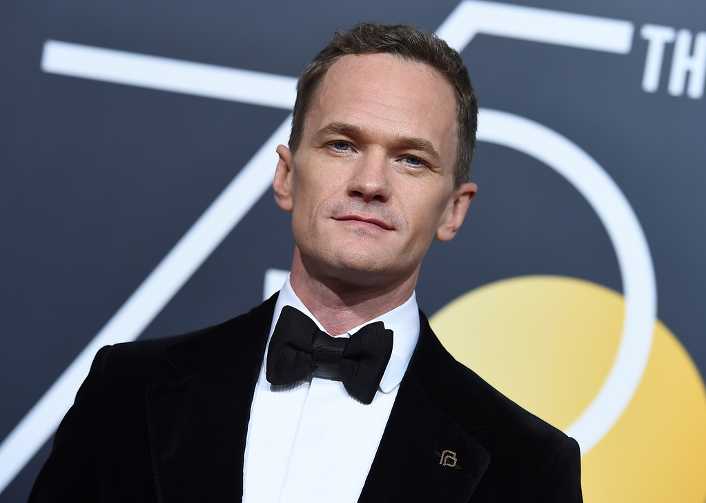 . Neil Patrick Harris arrives at the 75th annual Golden Globe Awards at the Beverly Hilton Hotel on Sunday, Jan. 7, 2018, in Beverly Hills, Calif. (Photo by Jordan Strauss/Invision/AP)