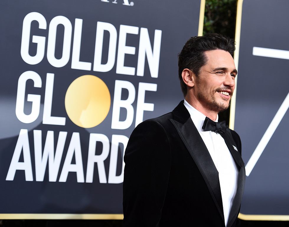 . Dave Franco arrives at the 75th annual Golden Globe Awards at the Beverly Hilton Hotel on Sunday, Jan. 7, 2018, in Beverly Hills, Calif. (Photo by Jordan Strauss/Invision/AP)