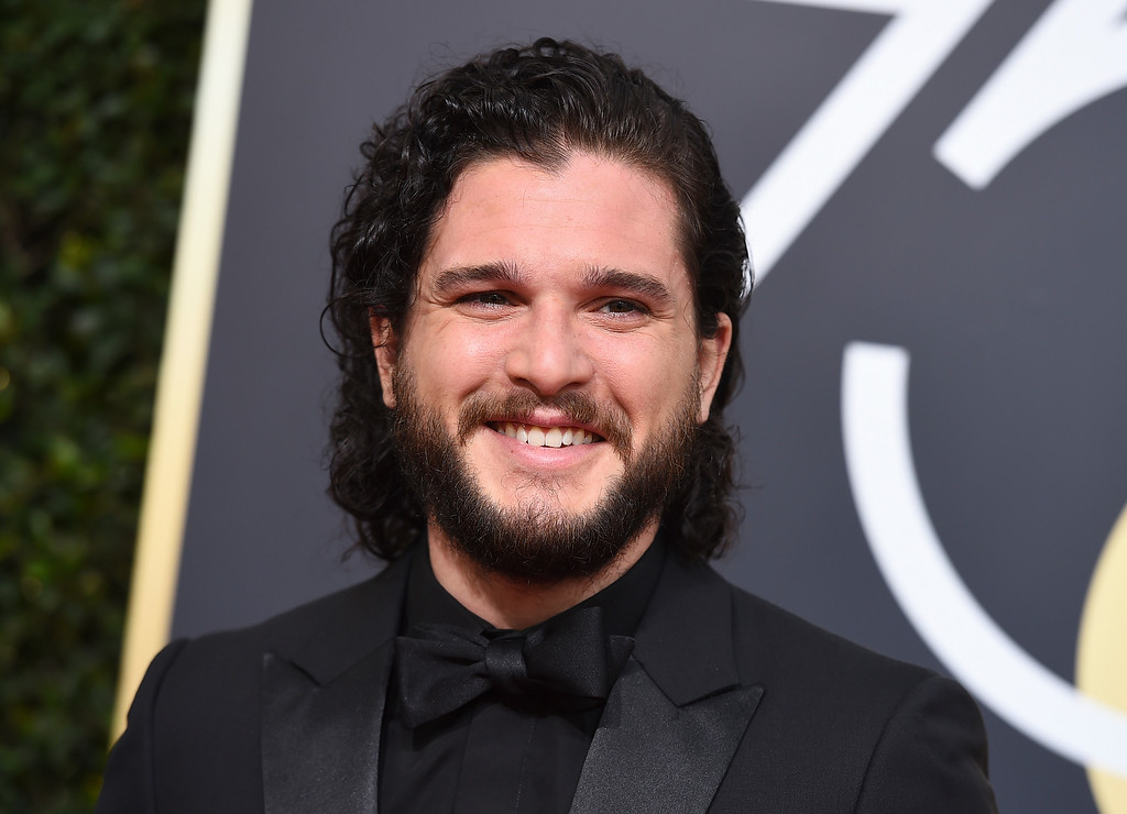 . Kit Harington arrives at the 75th annual Golden Globe Awards at the Beverly Hilton Hotel on Sunday, Jan. 7, 2018, in Beverly Hills, Calif. (Photo by Jordan Strauss/Invision/AP)
