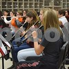 On Jan. 11, Sandwich High School band students practiced music they will perform during their upcoming trip to Washington, D.C. The school's three bands, two choirs and percussion class will combine to form one band and one choir and perform in the 2017 Inauguration Heritage Festival on Jan. 22.