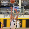 Sam Buckner for Shaw Media.<br /> Ethan Heinrich shoots a free throw onn Tuesday January 16, 2018 during competition against Rock Falls.