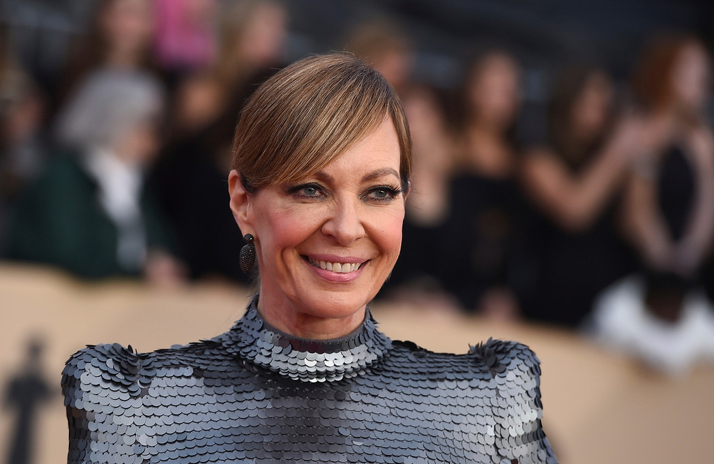 . Allison Janney arrives at the 24th annual Screen Actors Guild Awards at the Shrine Auditorium & Expo Hall on Sunday, Jan. 21, 2018, in Los Angeles. (Photo by Jordan Strauss/Invision/AP)