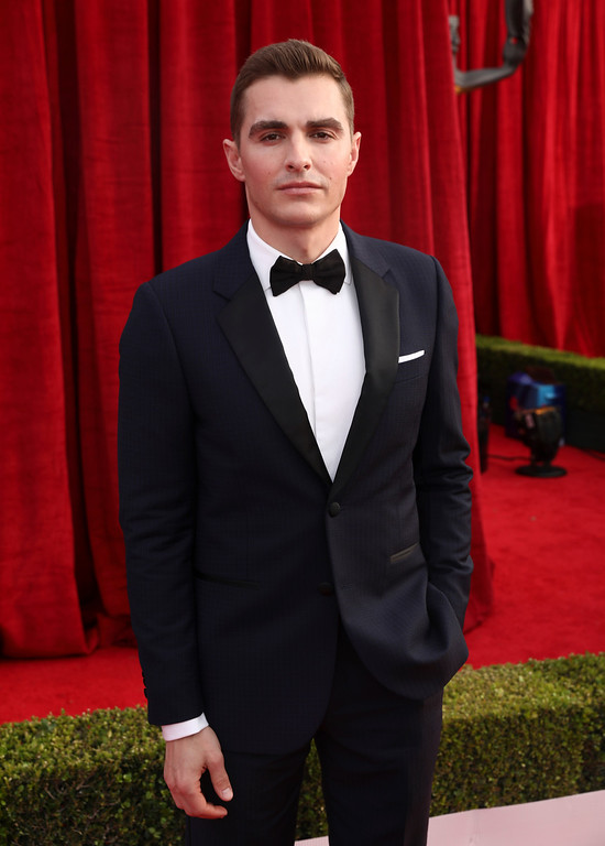 . Dave Franco arrives at the 24th annual Screen Actors Guild Awards at the Shrine Auditorium & Expo Hall on Sunday, Jan. 21, 2018, in Los Angeles. (Photo by Matt Sayles/Invision/AP)