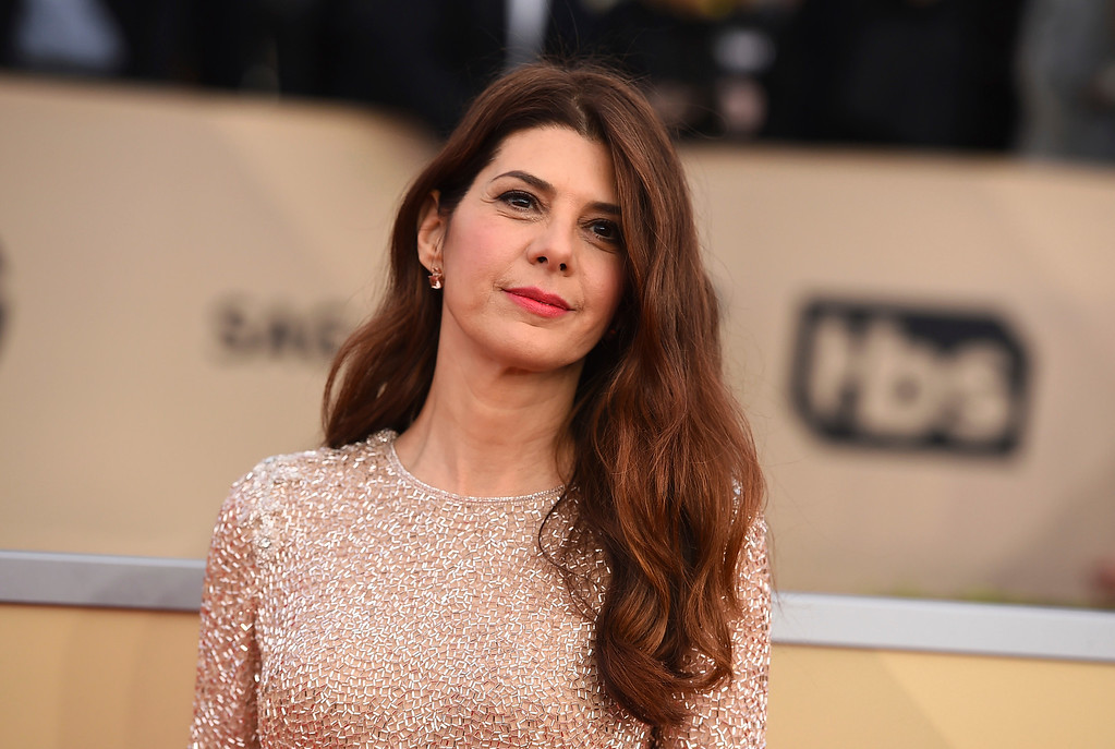 . Marisa Tomei arrives at the 24th annual Screen Actors Guild Awards at the Shrine Auditorium & Expo Hall on Sunday, Jan. 21, 2018, in Los Angeles. (Photo by Jordan Strauss/Invision/AP)