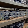 "Tens of thousands of pieces of Polish pottery, including items lining shelves in the distribution warehouse, shown, can be found at More Polish Pottery, located at 8S953 Jericho Road in Big Rock. The shop will celebrate its ""re-grand opening"" from Jan. 24 to 31 with open house-style events including presentations, food, tours and special deals."