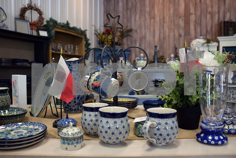 """Tens of thousands of pieces of Polish pottery can be found at More Polish Pottery, LLC, located at 8s953 Jericho Road in Big Rock. During the week of January 24 to 31, More Polish Pottery will celebrate its """"re-grand opening"""" with open house-style events including presentations, food, tours and special deals."""
