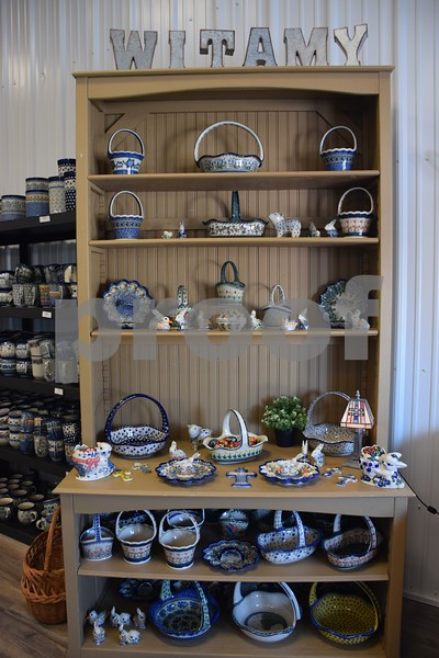 """Tens of thousands of pieces of Polish pottery can be found at More Polish Pottery in Big Rock. More Polish Pottery will celebrate its """"re-grand opening"""" from Jan. 24 to 31 with open house-style events including presentations, food, tours and special deals."""
