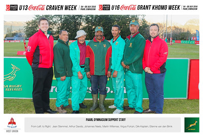 Paarl Gym Support Staff