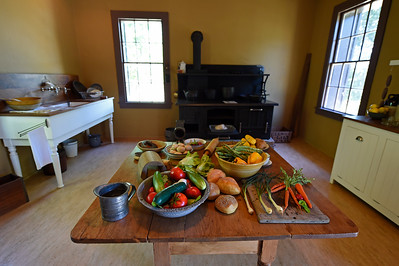 The kitchen of The Cottage at Jack London State Historic Park in Glen Ellen, Calif., on Monday, June 27, 2016. (Jose Carlos Fajardo/Bay Area News Group)