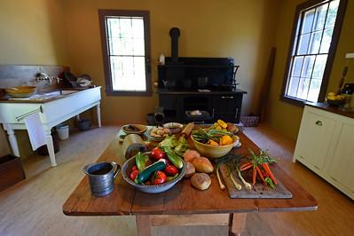 The kitchen of The Cottage at Jack London State Historic Park in Glen Ellen, Calif., on Monday, June 27, 2016. (Jose Carlos Fajardo/Bay Area News Group)