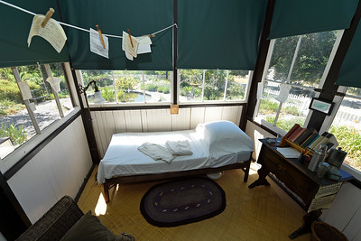 The bedroom of author Jack London at The Cottage at Jack London State Historic Park in Glen Ellen, Calif., on Monday, June 27, 2016. (Jose Carlos Fajardo/Bay Area News Group)