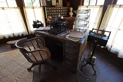 View of the writing room of author Jack London at The Cottage at Jack London State Historic Park in Glen Ellen, Calif., on Monday, June 27, 2016. (Jose Carlos Fajardo/Bay Area News Group)