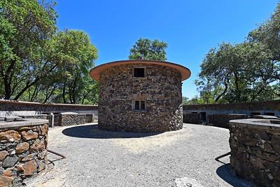 Entrance to Th Pig Palace at Jack London State Historic Park in Glen Ellen, Calif., on Monday, June 27, 2016. (Jose Carlos Fajardo/Bay Area News Group)