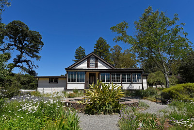 The Cottage where Jack London lived with his wife Charmian London at Jack London State Historic Park in Glen Ellen, Calif., on Monday, June 27, 2016. (Jose Carlos Fajardo/Bay Area News Group)