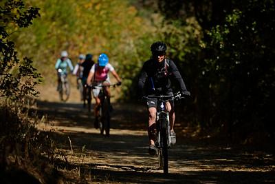 Nadia Strasser, of San Francisco, rides the trails at Crockett Hills Regional Park in Crockett, Calif., on Saturday, July 2, 2016. (Jose Carlos Fajardo/Bay Area News Group)