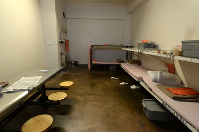 The cell where Brock Turner spent most of his 3 month incarceration at the Santa Clara County Main Jail in San Jose, Calif., photographed on Friday, Sept. 2, 2016. Turner was released after serving 3 months of his 6 month sentence for the sexual assault of an unconscious woman in January of 2015. The judge in the case, Aaron Persky, has come under fire for the sentence that many consider to be a slap on the wrist. (Dan Honda/Bay Area News Group)