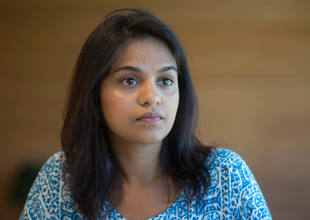 . Research Scientist Meena Nagarajan talks about her work at IBM Almaden Labs in San Jose, Calif., Wednesday, Aug. 3, 2016.  IBM Almaden Labs will celebrate its 30th anniversary on August 11.  (Patrick Tehan/Bay Area News Group)