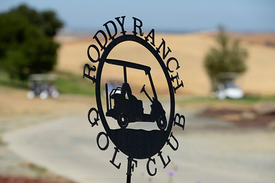 A metal sign greets golfers to the entrance of the clubhouse at Roddy Ranch Golf Club in Antioch, Calif., on Monday, Aug. 8, 2016. The golf course will be closing after Aug. 11th. (Jose Carlos Fajardo/Bay Area News Group)