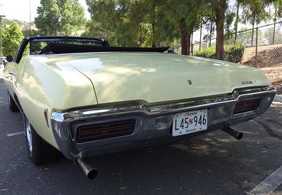 The 1968 Pontiac GTO convertible.        (Photo by David Krumboltz)
