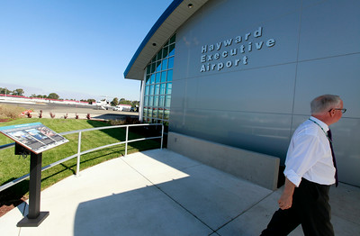 New Administration building at the Hayward Executive Airport.