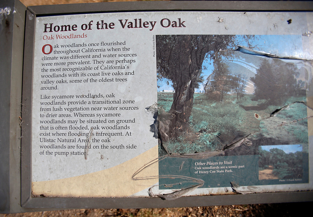 . A sign at the Ulistac Natural Area in Santa Clara, Calif. on Thursday, Sept. 19, 2013.  The 49ers and the city of Santa Clara are proposing to develop part of a 40-acre natural open space into soccer fields to make way for extra parking next to the new stadium.  (Nhat V. Meyer/Bay Area News Group)