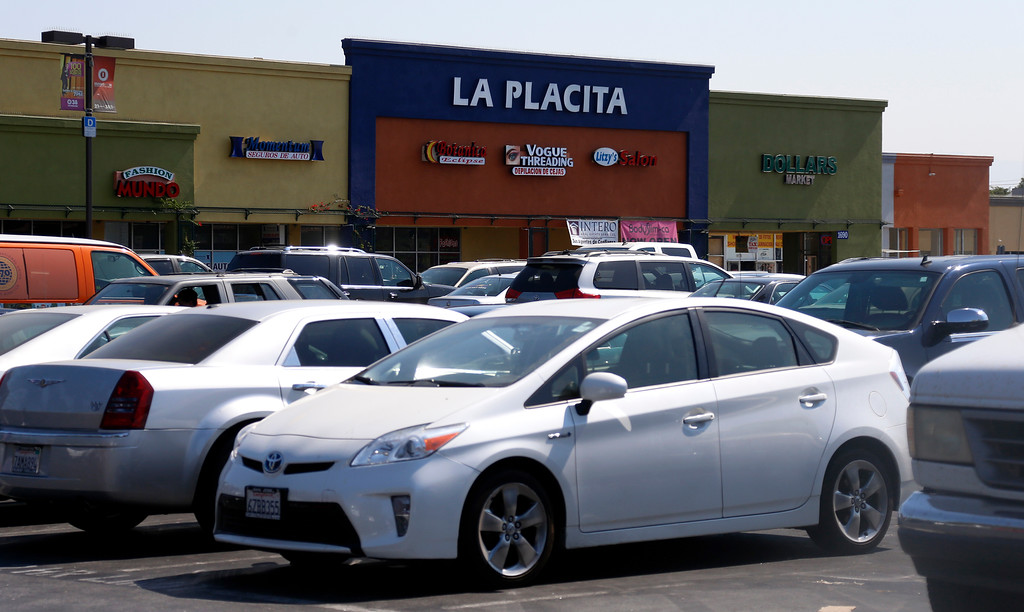 . La Placita Tropicana Shopping Center in San Jose, Calif., on Thursday, August 25, 2016. (Nhat V. Meyer/Bay Area News Group)