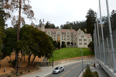 The newly restored Bowles Hall on the campus of UC Berkeley in Berkeley, Calif., photographed on Saturday, Aug. 20, 2016. The castle-like building is part of a larger revival of the throw-back staples of college life at large research institutions that used these types of student residences to reinvigorate the intellectual and social lives of their students. This undertaking was a multimillion dollar effort. (Dan Honda/Bay Area News Group)