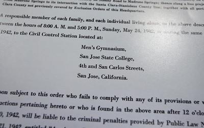 San Jose State archives detail Japanese internment