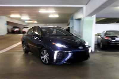 Toyota's new hydrogen powered Mirai