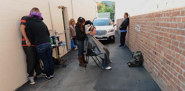 Deb Gomes gives back by giving free haircuts