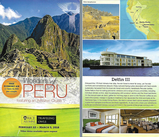 Peru Brochure Two page