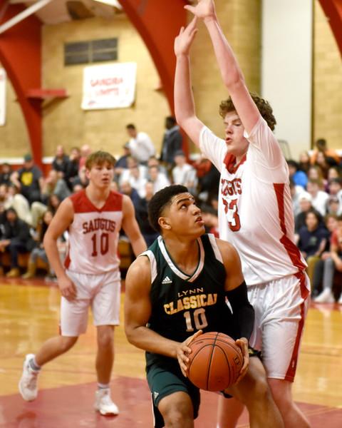 Sports. Boys Basketball Saugus vs Classical 6