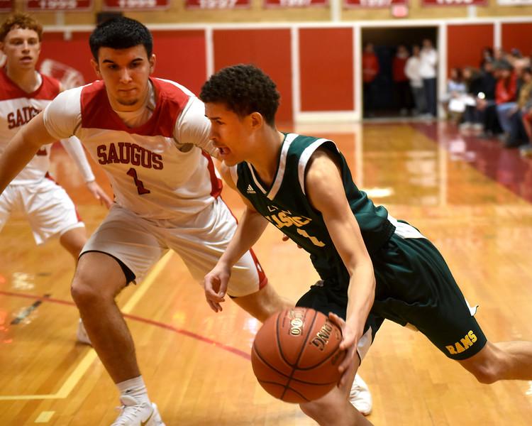 Sports. Boys Basketball Saugus vs Classical 1