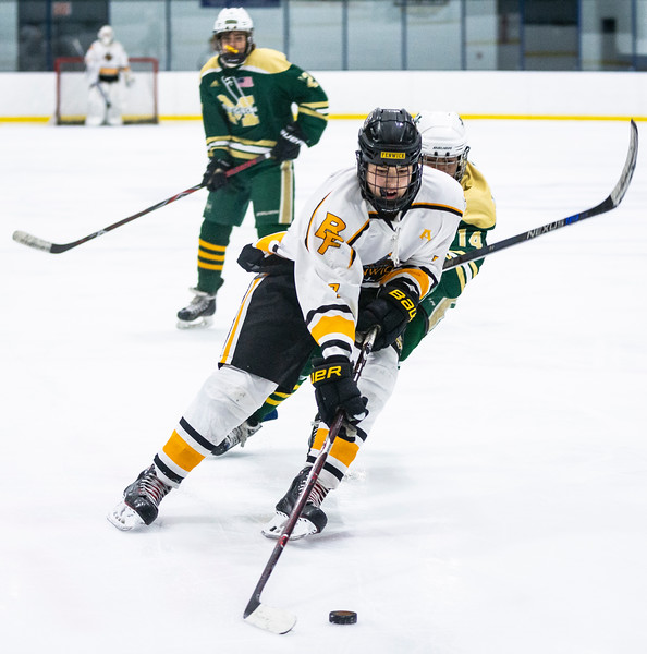 2 9 19 Matignon at Bishop Fenwick boys hockey 3