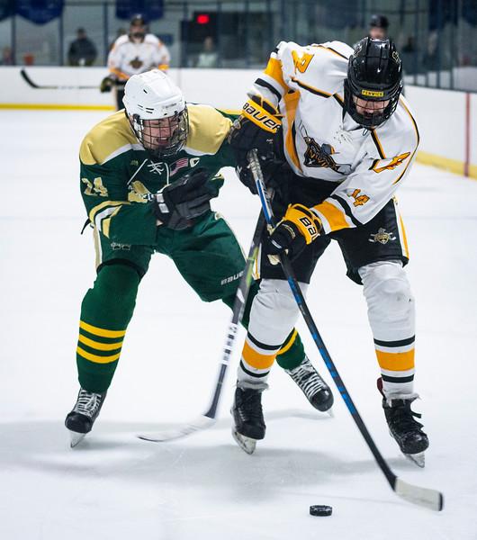 2 9 19 Matignon at Bishop Fenwick boys hockey 10