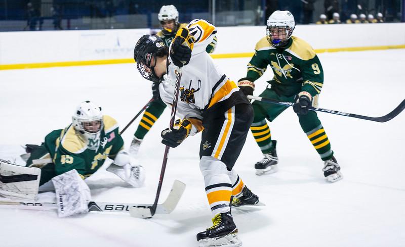 2 9 19 Matignon at Bishop Fenwick boys hockey 9