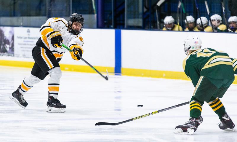 2 9 19 Matignon at Bishop Fenwick boys hockey 7