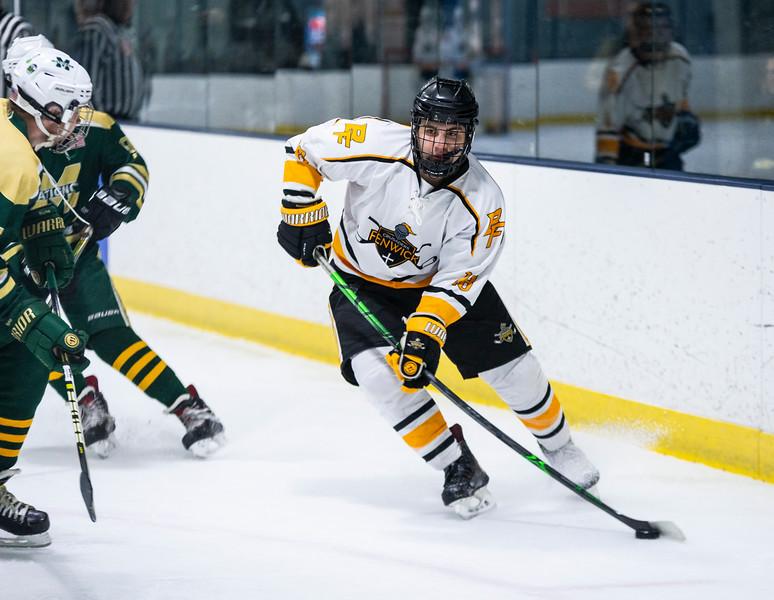 2 9 19 Matignon at Bishop Fenwick boys hockey 12