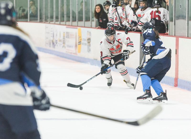 Marblehead V Peabody girls hockey 12