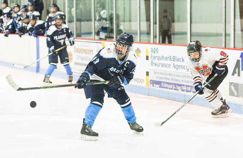 Marblehead V Peabody girls hockey 6
