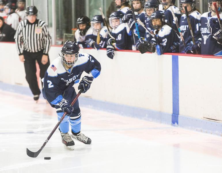Marblehead V Peabody girls hockey 7