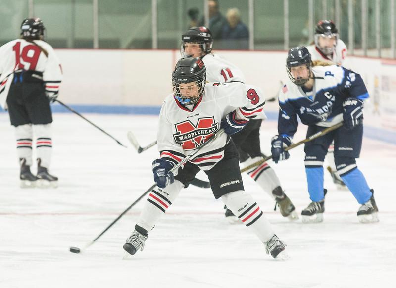 Marblehead V Peabody girls hockey 5
