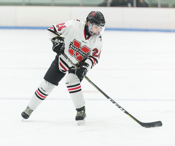 Marblehead V Peabody girls hockey 9