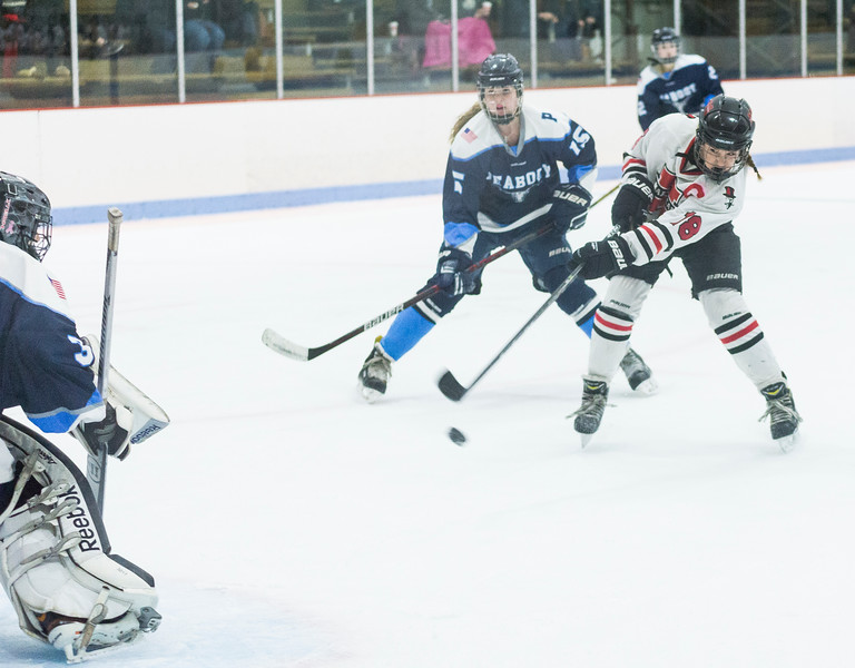 Marblehead V Peabody girls hockey 8