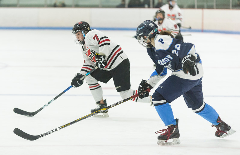 Marblehead V Peabody girls hockey 10
