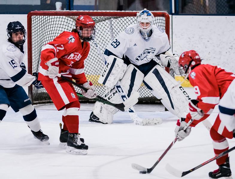 2 1 20 Amesbury at Lynnfield boys hockey 12