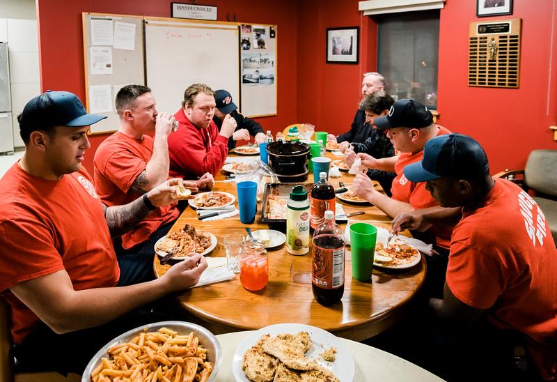 2 21 20 Saugus fire station dinner 2
