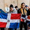 2 27 20 Lynn Dominican flag raising 4