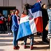2 27 20 Lynn Dominican flag raising 3